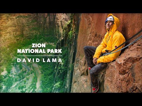 David Lama & Conrad Anker Climb New Route in Zion National Park