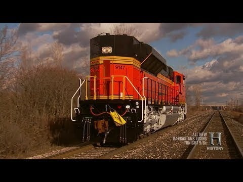 Modern Marvels: The Brain of the Rail Yard | History