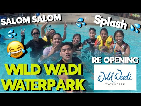 RE OPENING WILD WADI WATERPARK GoPRO 2021 | Wild Wadi Waterpark Ramadan 2021 ( Sobrang Saya 😂 )