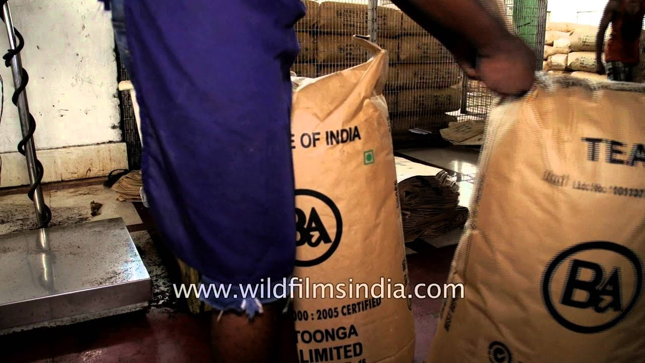Make in India: Assam Tea packed into tea bags, weighed and readied to ship