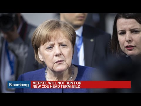 Merkel to Quit as CDU Head After Nearly Two Decades