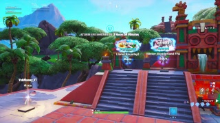Fortnite Custom MATCHMAKING winner gets shoutout