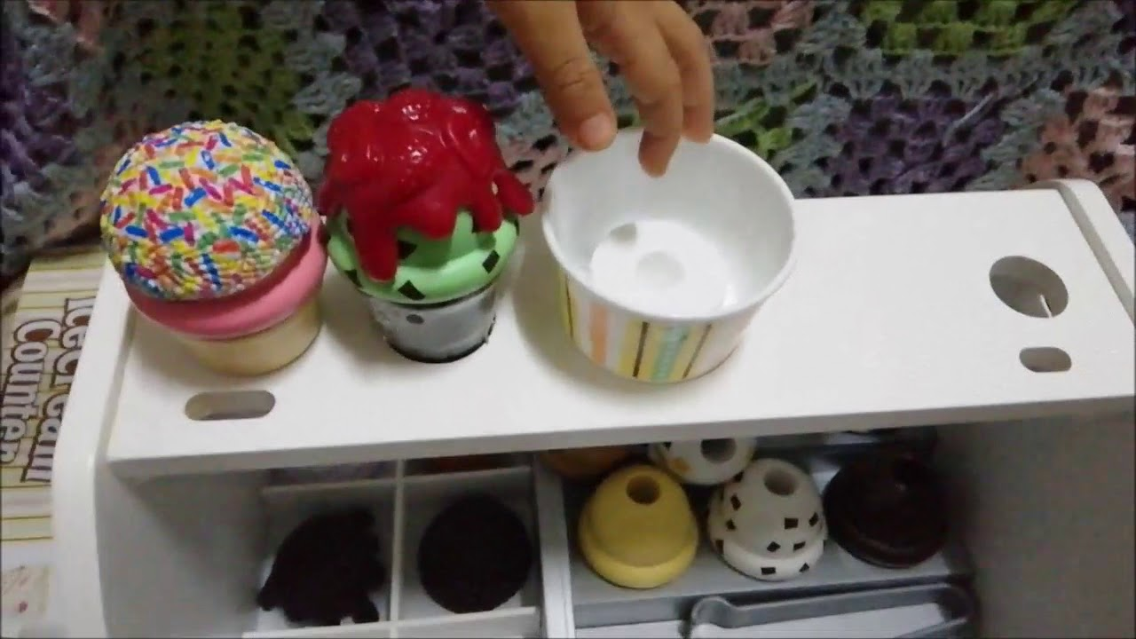 Melissa And Doug Wooden Ice Cream Counter Unboxing Youtube