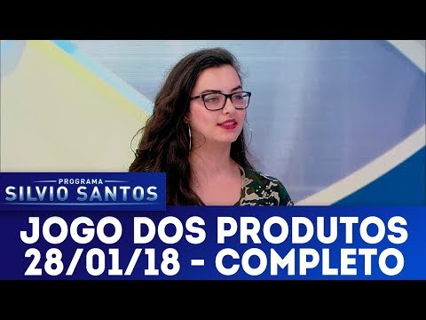 Jogo dos Produtos - Completo | Programa Silvio Santos (28/01/18)