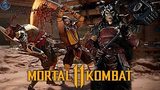 Mortal Kombat 11 - Gear System Confirmed?! New Look at Shao Khan Revealed!