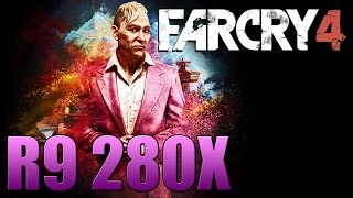 Far Cry 4 - PC Gameplay - R9 280X / I5 4670K - Benchmark - Ultra Settings