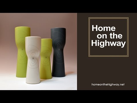 Antique Shops in Chicago - Home on the Highway - Ceramic vases