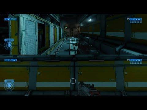 MCC: Halo 2 - Cairo Station - Inside MAC Storage Room Early