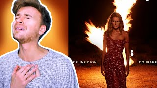 Celine Dion - Imperfections, Lying Down & Courage [REACTION]