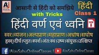 H-1/ Hindi Varnmala with tricks (वर्णमाला)