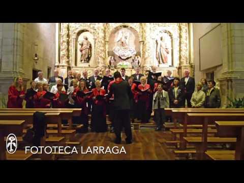 Coral Escuela Música de Peralta Ciclo Cultural 2015 #Larraga #Navarra