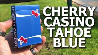 Deck Review - Cherry Playing Cards Tahoe Blue Edition [HD]