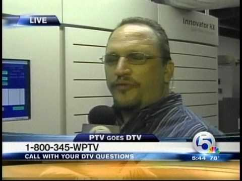 WPTV Ch 5 Analog Shutdown - DTV Conversion - Frequency Retune June 12th, 2009 @ 5:45 AM