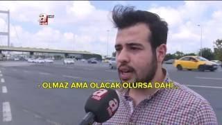 Tankları çeken Konya'lı öğrenci Taha Koyuncu - 15 Temmuz Şehitler Köprüsü - Atv / A Haber röportaj