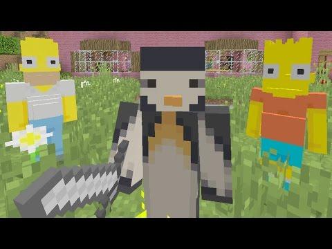 Minecraft Xbox - Murder Mystery - Simpsons Vs Family Guy