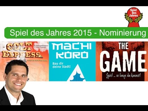 Spiel des Jahres 2015 - nominees - The Board Game Family