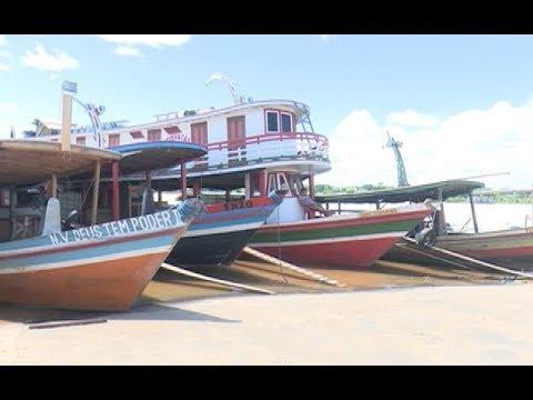 Barqueiros pedem providência da Prefeitura para organizar espaço para ancoragem no porto