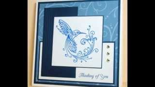 Creative Heart Designs - Rubber Stamped Greeting Cards