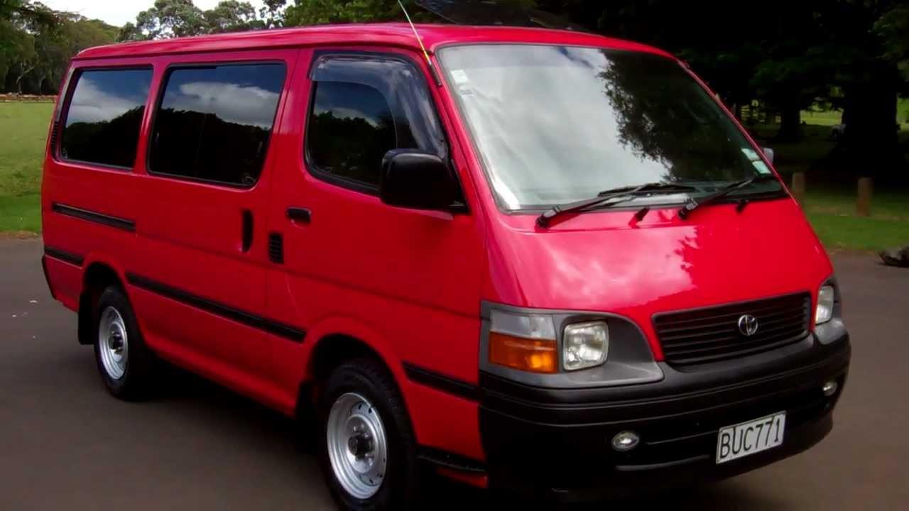 2004 Toyota Hiace Diesel $1 NO RESERVE!!! $Cash4Cars