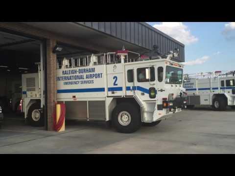 August 26, 2016 - Raleigh-Durham Airport FD - CFR 2 Responding