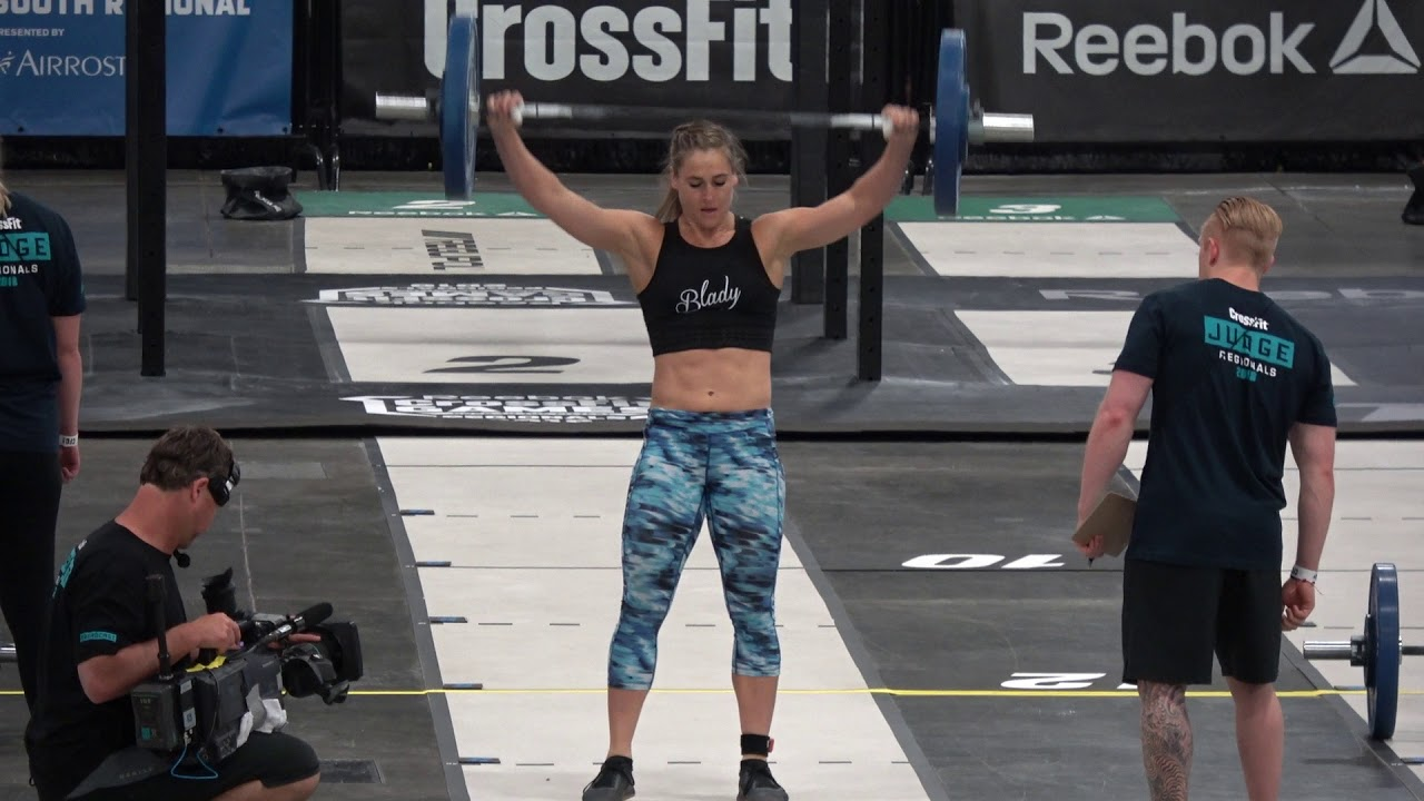 2018 Crossfit Games Regionals Event 4 Claire Youtube