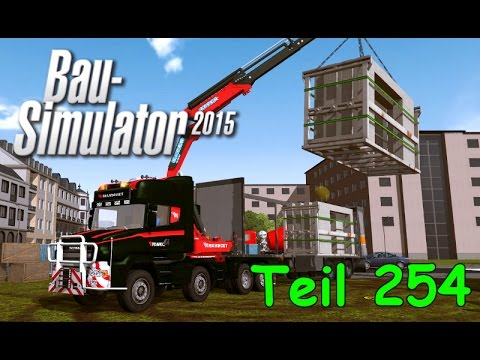 let 39 s play bau simulator 2015 teil 254 scania t mit kran. Black Bedroom Furniture Sets. Home Design Ideas