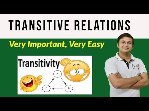 Transitive Relations | Discrete Mathematics- part 6