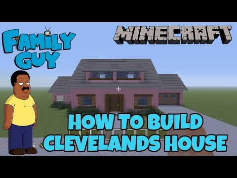Minecraft Tutorial - How To Build Cleveland house