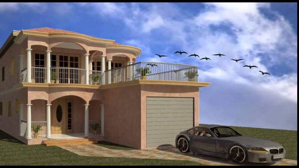 Trelawny Jamaica Gated Community Jamaica Luxury Modern Blue Prints