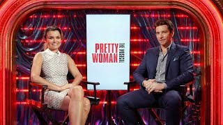 What's My Q?: PRETTY WOMAN Stars Samantha Barks and Andy Karl