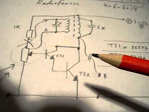 oscillators with coils/transformers, part 3