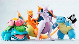 Pokemon Bandai / Tamashii Nations D-Arts Fushigibana, Kamex, Lizardon (Charizard) figurine Japan FOJ