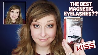 THE BEST MAGNETIC LASHES?? Kiss Ultimate Magnetic Lashes vs. Ardell!! Do they Stay On?