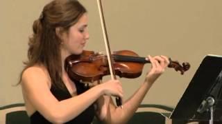 Johannes Brahms Sonata for Violin and Piano in A major, Op 100: Third movement (Allegretto grazioso)