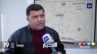 إغلاقات للطرق الرئيسية بين المدن وإعلانها مناطق عسكرية مغلقة عقب عملية طعن مستوطن - (6-2-2018)
