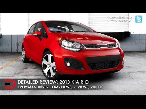 Hereu0027s The 2013 Kia Rio On Everyman Driver