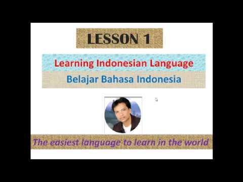 Lesson 1 Bahasa Indonesia - Indonesian Language