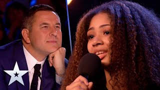 15-Year-Old MESMERISES Judges with dreamy vocals | Unforgettable Audition | Britain's Got Talent