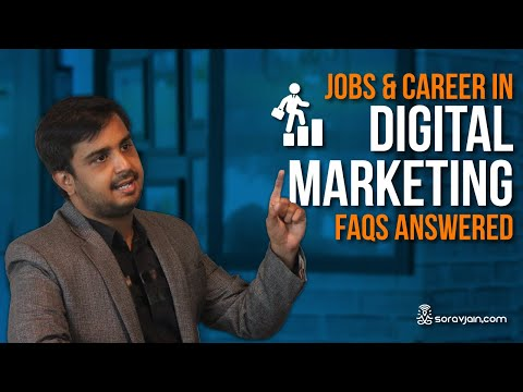 Digital Marketing Jobs and Career - FAQs Answered [India]