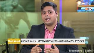 India's Only Listed REIT Outshines Realty Stocks