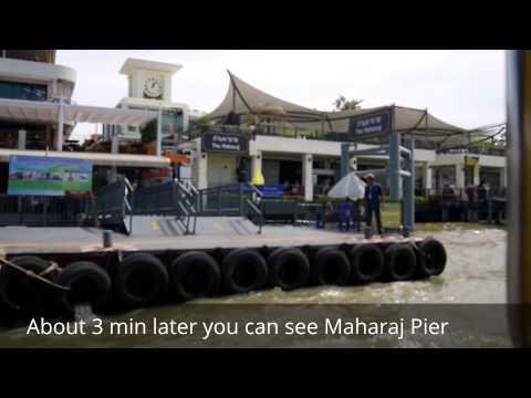 Prannok(Wang Lang) Pier to Maharaj Pier ; Bangkok