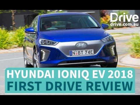 Hyundai Ioniq EV 2018 First Drive Review | Drive com au