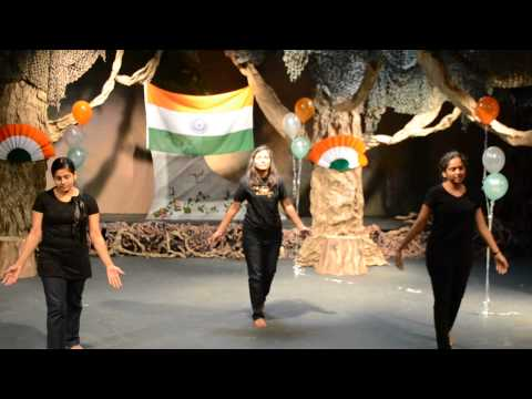Choreography by our youth at Republic Day Celebration - Plano-Dallas Tamil Church
