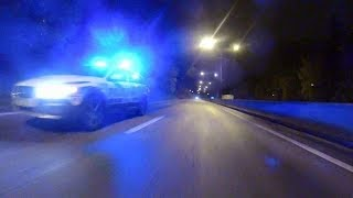 HIGHWAY 3 (Part 3) Skurken with an Audi RS4 police chase [HD]