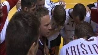 Гандбол-2016. Латвия - Беларусь. Окончание матча