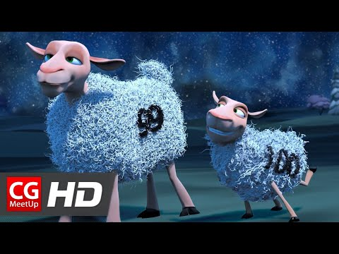 "CGI 3D Animated Short Film ""The Counting Sheep Short Film"" by Michale Warren & Katelyn Hagen"