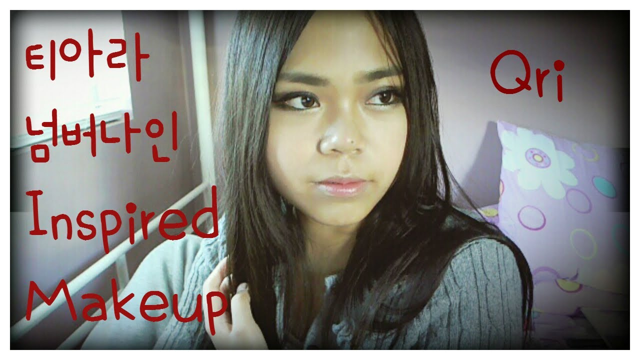 T-ARA 티아라 Qri 큐리 Number 9 Inspired Makeup - YouTube