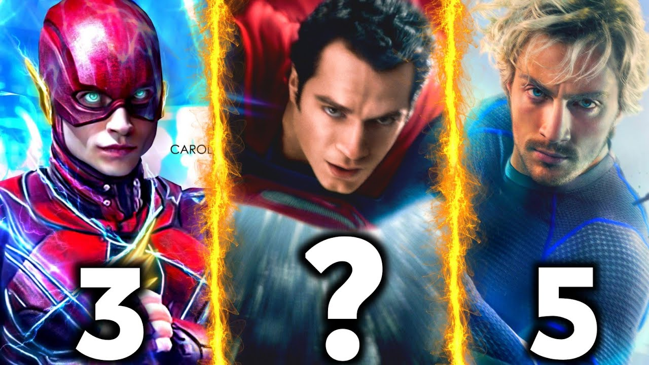 Download Top 10 Fastest Superheroes in MCU & DCEU ( 2021 )  / Explained in HINDI