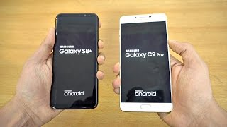 Samsung Galaxy S8 Plus vs Galaxy C9 Pro 6GB RAM - Speed Test! (4K)