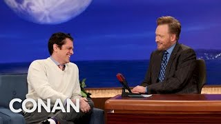 Johnny Knoxville Got Stabbed At A Bachelor Party | CONAN on TBS